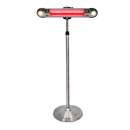 Lava Heat Walle EL6RES Outdoor Patio Heater Stainless Steel, Main Image