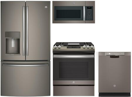 GE Profile  988576 Kitchen Appliance Package Slate, Main Image