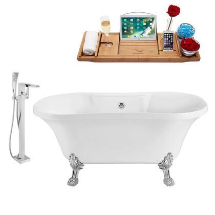 Streamline NH100CHCH100 Bath Tub, NH100CH CH 100 %201T