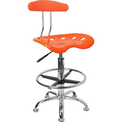 Flash Furniture  LF215ORANGEYELLOWGG Office Chair Orange, 1