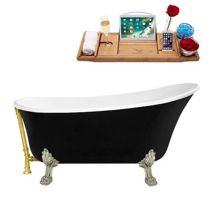Streamline  N345BNKGLD Bath Tub Black, N345BNK GLD 1