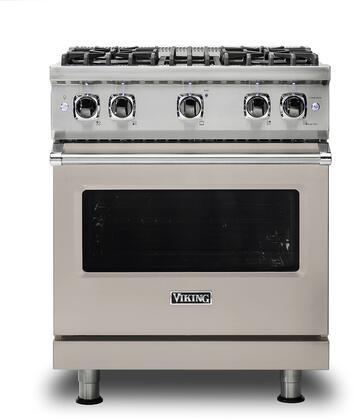 Viking 5 Series VGR5304BPG Freestanding Gas Range Gray, VGR5304BPG Gas Range