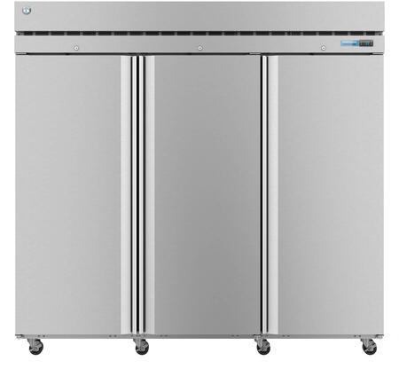 Hoshizaki Steelheart F3A Commercial Reach In Freezer Stainless Steel, 1