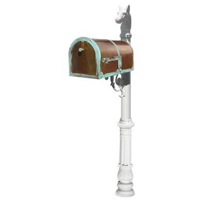 Qualarc Provincial MB3000PATLP701WHT Mailboxes, MB 3000 PAT LP701 WHT
