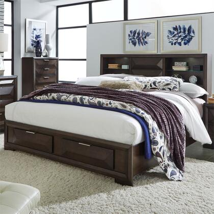 Liberty Furniture Newland 148BRKSB Bed Brown, Lifestyle