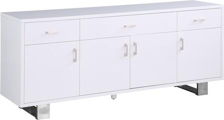 Meridian Excel 358 Dining Room Buffet White, 358 1