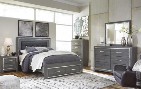 Signature Design by Ashley Lodanna B214QSBCHDMN Bedroom Set Gray, B214QSBCHDMN Main View