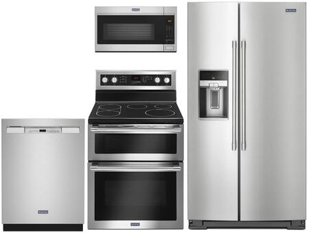 Maytag  1009973 Kitchen Appliance Package Stainless Steel, Main image