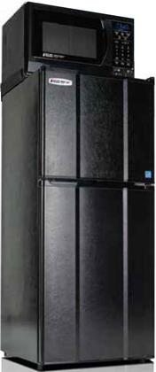 MicroFridge  48MF49D1 Top Freezer Refrigerator Black, Main Image