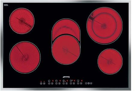 Smeg S2773CXU Electric Cooktop Stainless Steel, Main View