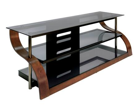 Bello CW343 52 in. and Up TV Stand Brown, Main Image