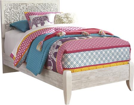 Signature Design by Ashley Paxberry B1815352 Bed White, B1815352 Main View