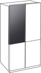 Samsung BESPOKE RAF18DUUMT Door Panel , RAF18DUUMT