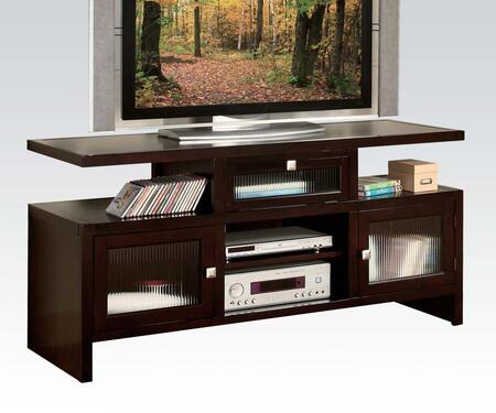 Acme Furniture Jupiter 10122 52 in. and Up TV Stand Brown, TV Stand
