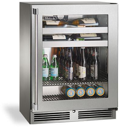 Perlick Signature HH24BO43R Beverage Center Stainless Steel, Main Image