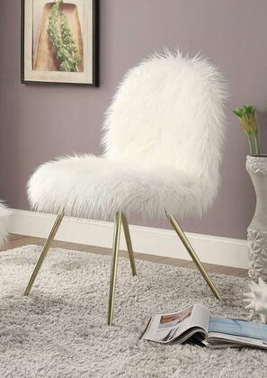 Furniture of America Caoimhe CMAC6546 Accent Chair White, Main Image