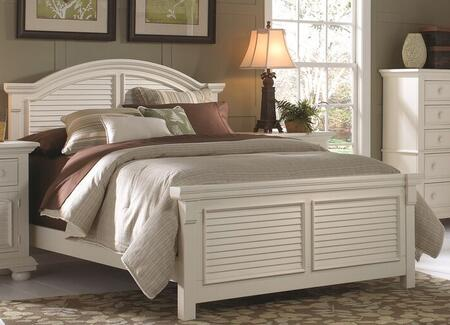 American Woodcrafters Cottage Traditions 651050PANNS Bedroom Set White, Main Image