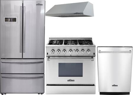 Thor Kitchen 888006 Kitchen Appliance Package & Bundle Stainless Steel, 1