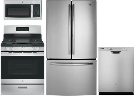 GE  1168849 Kitchen Appliance Package Stainless Steel, main image