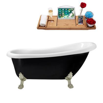 Streamline  N481BNKINBL Bath Tub Black, N481BNK IN BL 1
