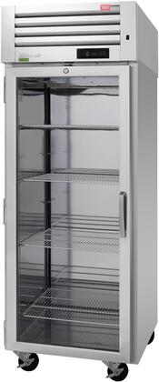 PRO-26F-G-N-L 29″ Pro Series Left Hinged Glass Door Reach-In Freezer with 25.35 cu. ft. Capacity  Self-Cleaning Condenser  Digital Temperature
