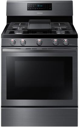 Samsung  NX58R5601SG Freestanding Gas Range Black Stainless Steel, NX58R5601SG Black Stainless Steel Gas Range