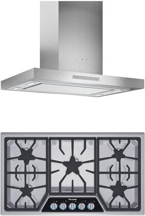 Thermador  1071337 Kitchen Appliance Package Stainless Steel, main image