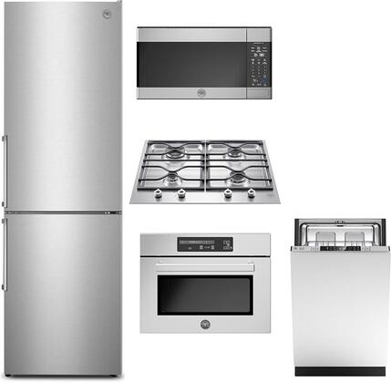 Bertazzoni  1096538 Kitchen Appliance Package Stainless Steel, Main Image
