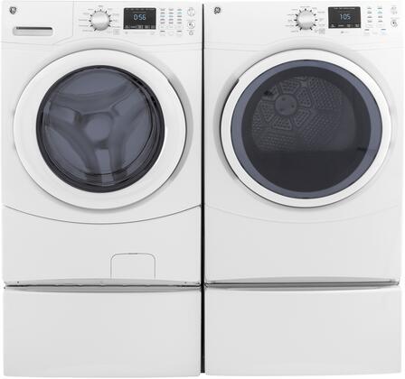 GE 957936 Washer & Dryer Set White, 1