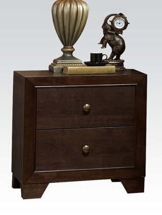 Acme Furniture Madison 19573 Nightstand Brown, Nightstand
