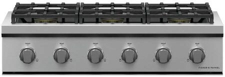 Fisher Paykel Professional CPV3366N Gas Cooktop Stainless Steel, CPV3366 Professional Rangetop