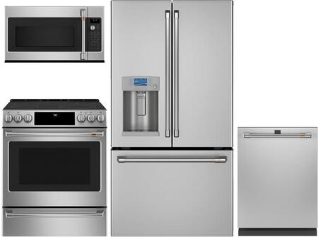 Cafe  1050087 Kitchen Appliance Package Stainless Steel, Main image