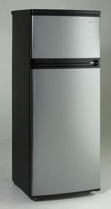 Avanti  RA7316PST Top Freezer Refrigerator Silver, Main Image