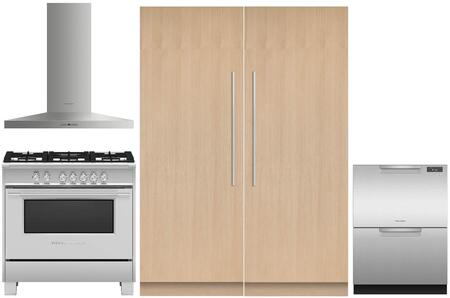 Fisher Paykel  975038 Kitchen Appliance Package Panel Ready, main image