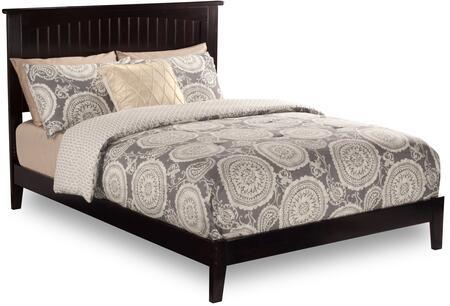 Atlantic Furniture Nantucket AR8251001 Bed Brown, AR8251001 SILO DETAIL(F)