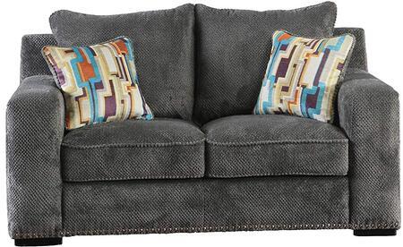 Acme Furniture Ushury 53191 Loveseat Gray, 53451 Front