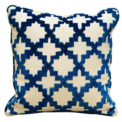 Plutus Brands Velvety French Medallion PBRA23321616DP Pillow, PBRA2332