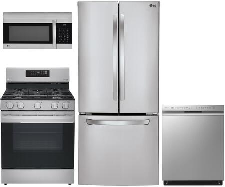 LG  1333053 Kitchen Appliance Package Stainless Steel, Main image