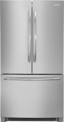 Frigidaire Gallery FGHG2368TF French Door Refrigerator Stainless steel, Main View