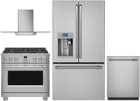 Cafe 1054605 Kitchen Appliance Package & Bundle Stainless Steel, main image