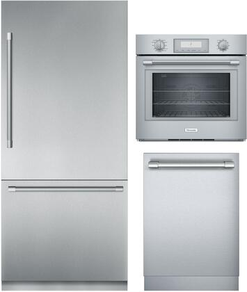 Thermador Freedom 1311284 Kitchen Appliance Package Stainless Steel, Main image