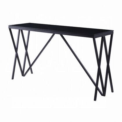Acme Furniture Magenta 87157 Sofa Table Black, Main Image