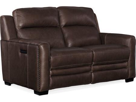 Hooker Furniture MS Series SS631P2088 Loveseat Brown, Loveseat