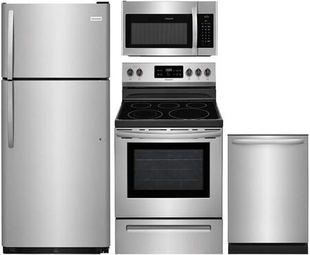 Frigidaire  826305 Kitchen Appliance Package Stainless Steel, main image