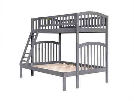Atlantic Furniture Richland AB64209 Bed Gray, AB64209
