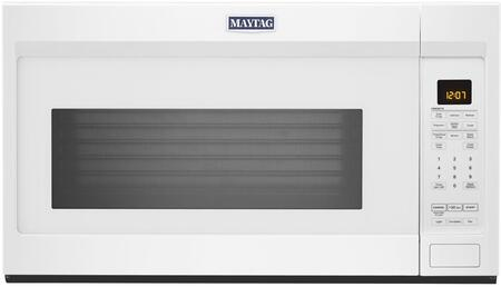Maytag MMV4207JW Over The Range Microwave White, MMV4207JW Front View