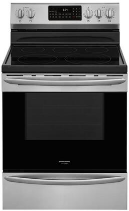 Frigidaire Gallery GCRE3060AF Freestanding Electric Range Stainless Steel, Main Image