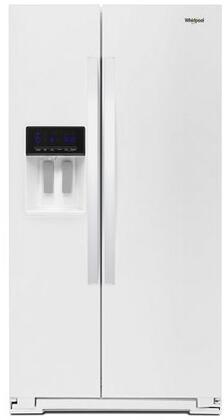 Whirlpool  WRS571CIHW Side-By-Side Refrigerator White, Main Image