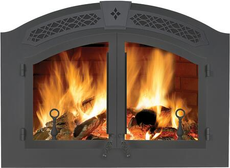 Napoleon High Country Arched Black Double Door