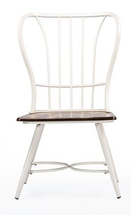 Wholesale Interiors Baxton Studio Longford CDC271DS2WWXX Dining Room Chair White, 1